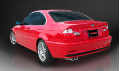 2001-2006 BMW 330i/ci E36 / 325i/ci E46 / Sedan / Convertible / Axle Back / Sport (SKU: Corsa-14559)